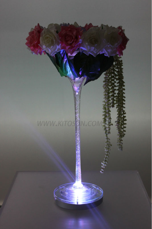 Remote control multi colors inch rechargeable led wedding