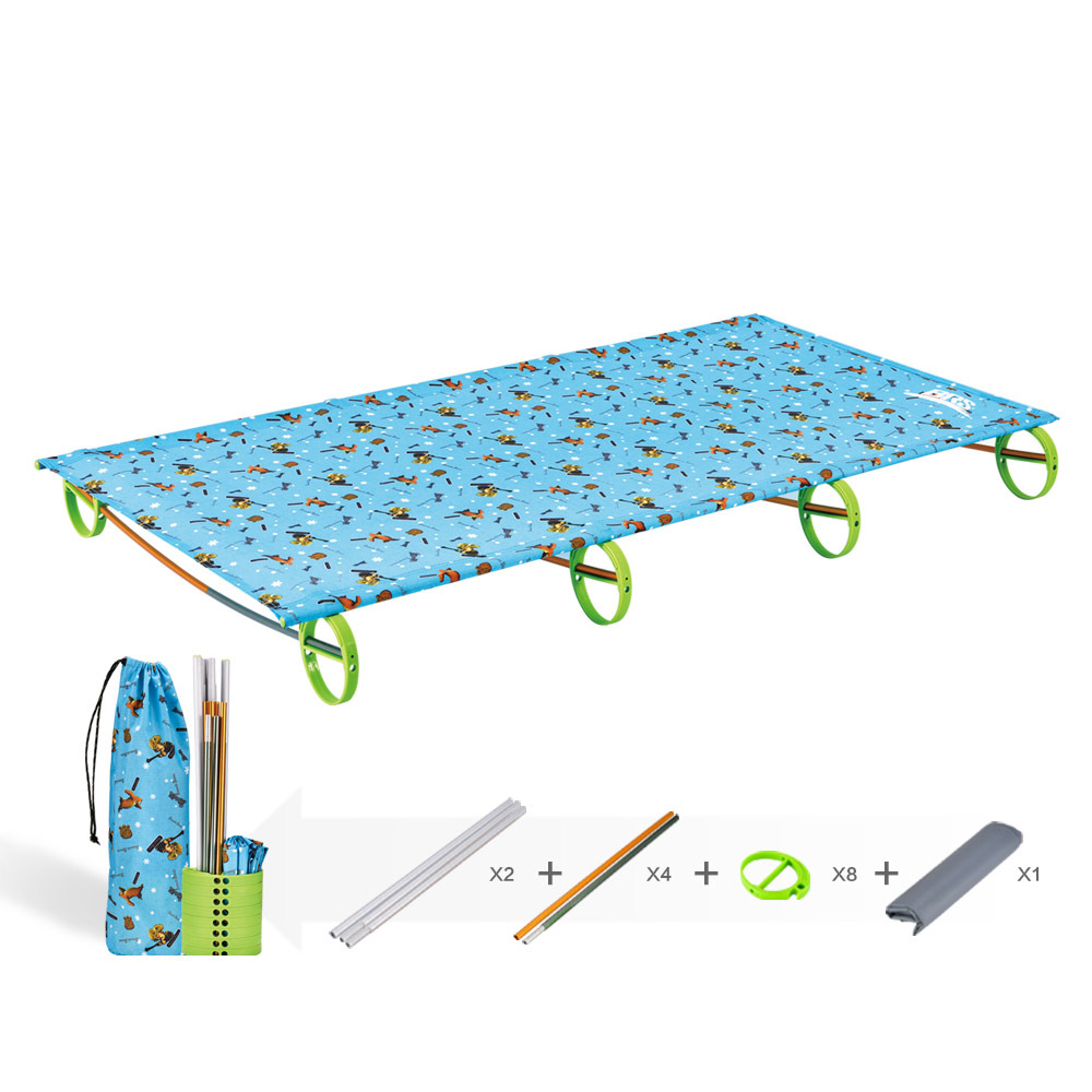BRS Outdoor Children Folding Bed Lightweight Camping Bed Camping Equipment BRS-MC2(China (Mainland))