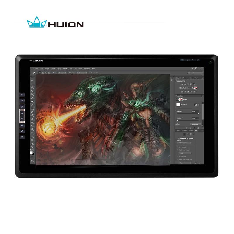 New Huion GT-185 Digital Drawing Monitor Touch Screen Monitor Interactive Pen Display Laptop Monitor Digital Tablet Monitors(China (Mainland))