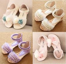 Princess pearl lace Roman children s sandals children shoes kids boots sandal girls new girls sandals