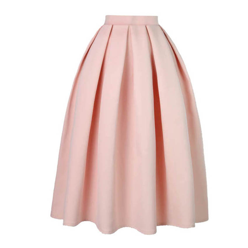 Compare Prices on Red Pleated Skirt- Online Shopping/Buy Low Price ...
