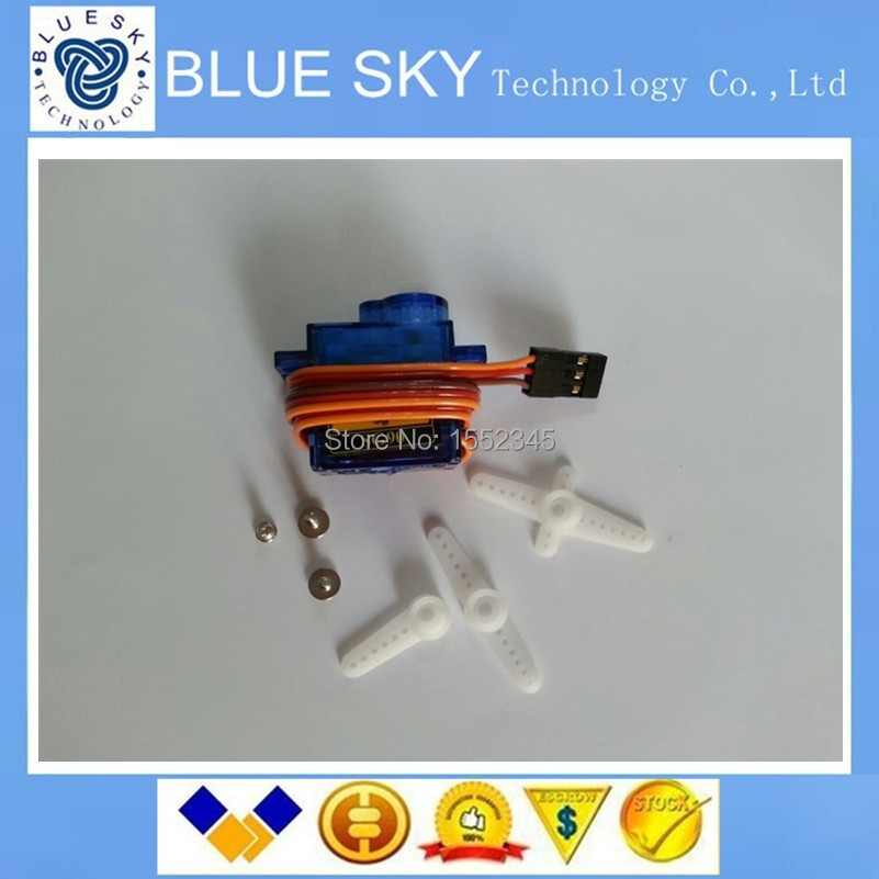 Free Shipping 5PCS/LOT SG90 9g Mini Micro Servo for RC for RC 250 450 Helicopter Airplane Car(China (Mainland))
