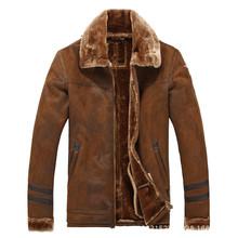 2015 new men's leather jacket short fur jacket men's large size M-3XL(China (Mainland))
