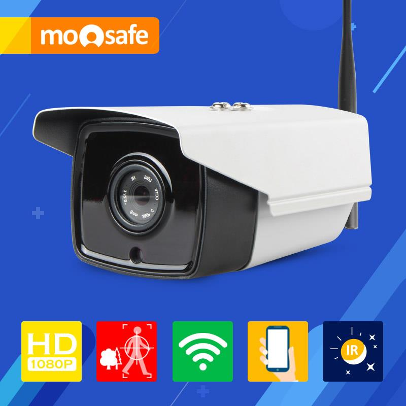 Mosafe 2.0MP WIFI Camera 4 pcs Array Leds IR night vision Onvif motion detection P2P remoter control Onvif Surveillance Cameras(China (Mainland))