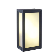 Outdoor Waterproof LED Wall Lamps Modern Simple Square Corridor Lights Garden Light AC90-260V With E27 LED Bulbs(China (Mainland))