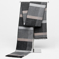 2016 Korean Fashion Shawl Europe Scarves Men New Winter Warm Cashmere Scarf Business Leisure Tartan Shawl