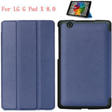 Buy Business Pu Leather Stand Case Cover Shield LG G Pad X 8.0 V525 V520 Tablet Hard Shell for $7.90 in AliExpress store