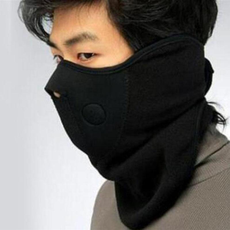 New Thermal Neck warmers Fleece Balaclavas CS Hat Headgear Winter Skiing Ear Windproof Warm Face Mask Motorcycle Bicycle Scarf