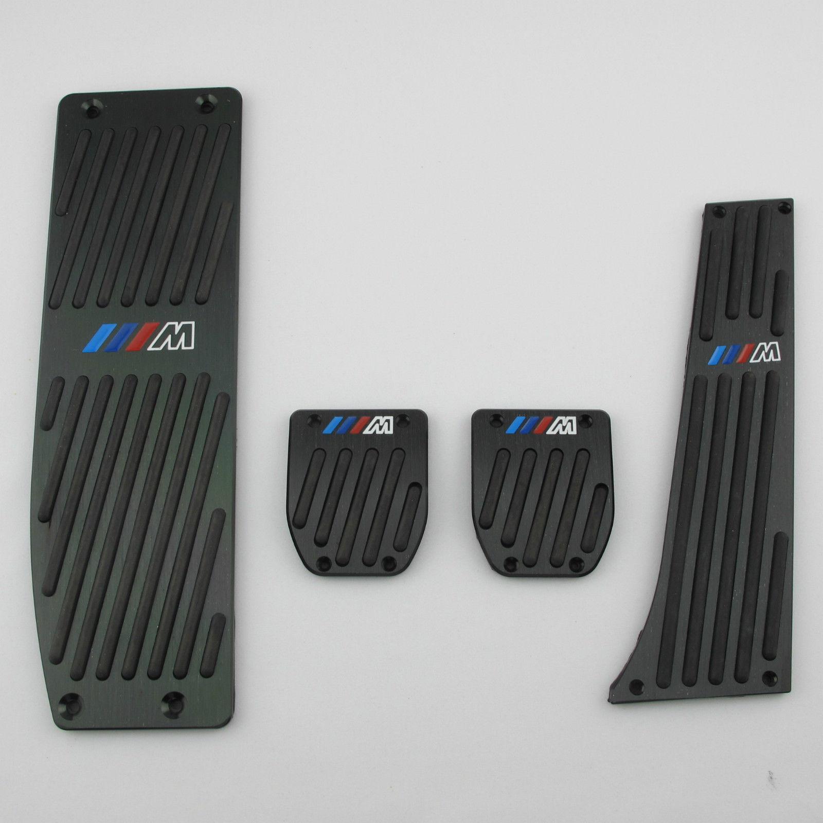 4pcs/set Set Black Foot Rest Pedals MT Pads for BMW E30 E36 E46 E87 E90 E91 E92 93(China (Mainland))