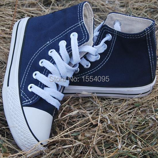 Free Shipping Dark Blue 2015 Fashion Kids Childrens Shoes For Girls And Boys Sneakers Star Canvas Shoes X0019(China (Mainland))