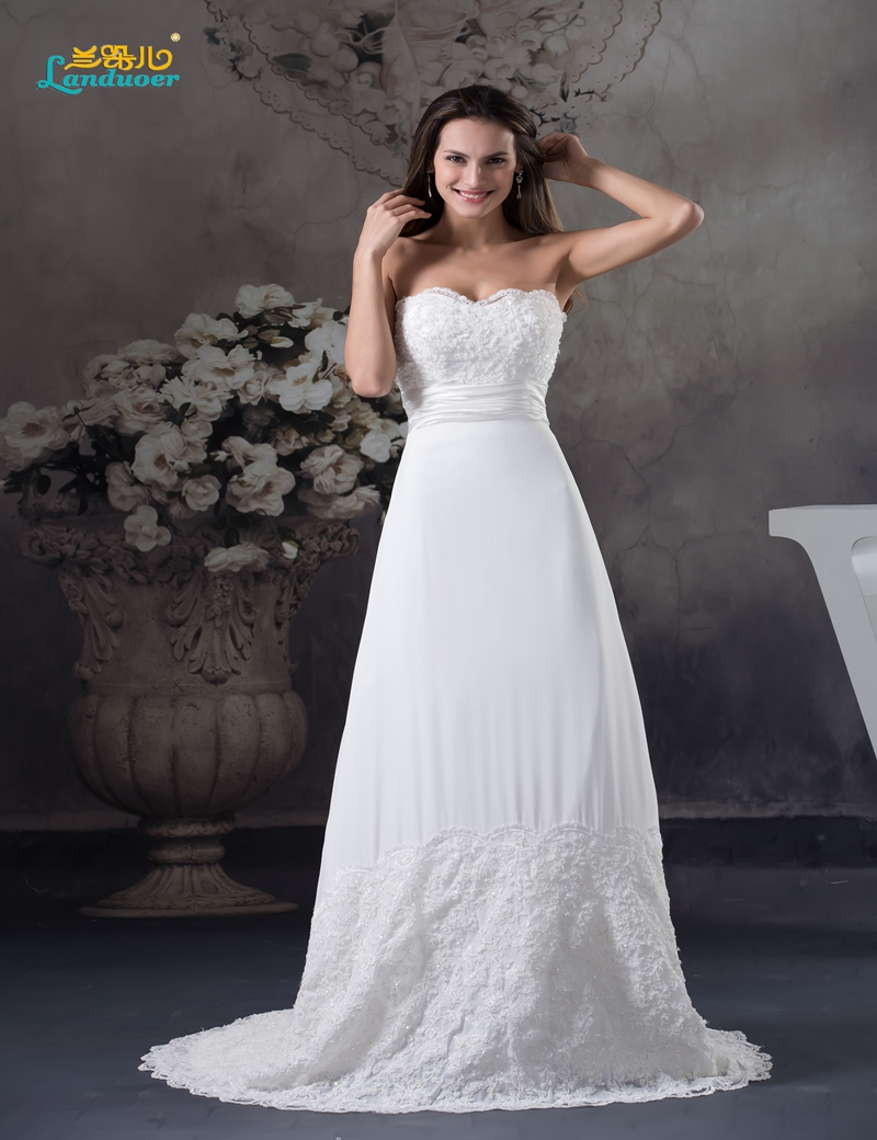 Factory low price chiffon boho beach wedding dress 2016 for Aolisha wedding dress price