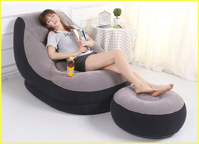 Inflatable sofa convertible sofa modern sofa bed for home use indoor,come with Inflatable pump,2 piece sofa, Hand pump(China (Mainland))