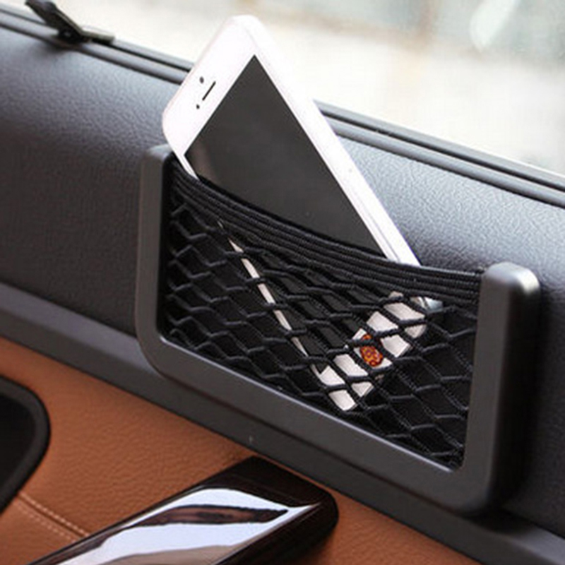 Car-Styling Upgrade Storage Net Bag Holder Pocket Organizer 15CM 20CM Auto Interior Accessories Car organizer Stowing Tidying(China (Mainland))