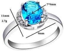 Trendy Wholesale Jewelery Mix Lots White Gold Eye Simulated Diamond Blue Ruby Amethyst Stone Big Vintage