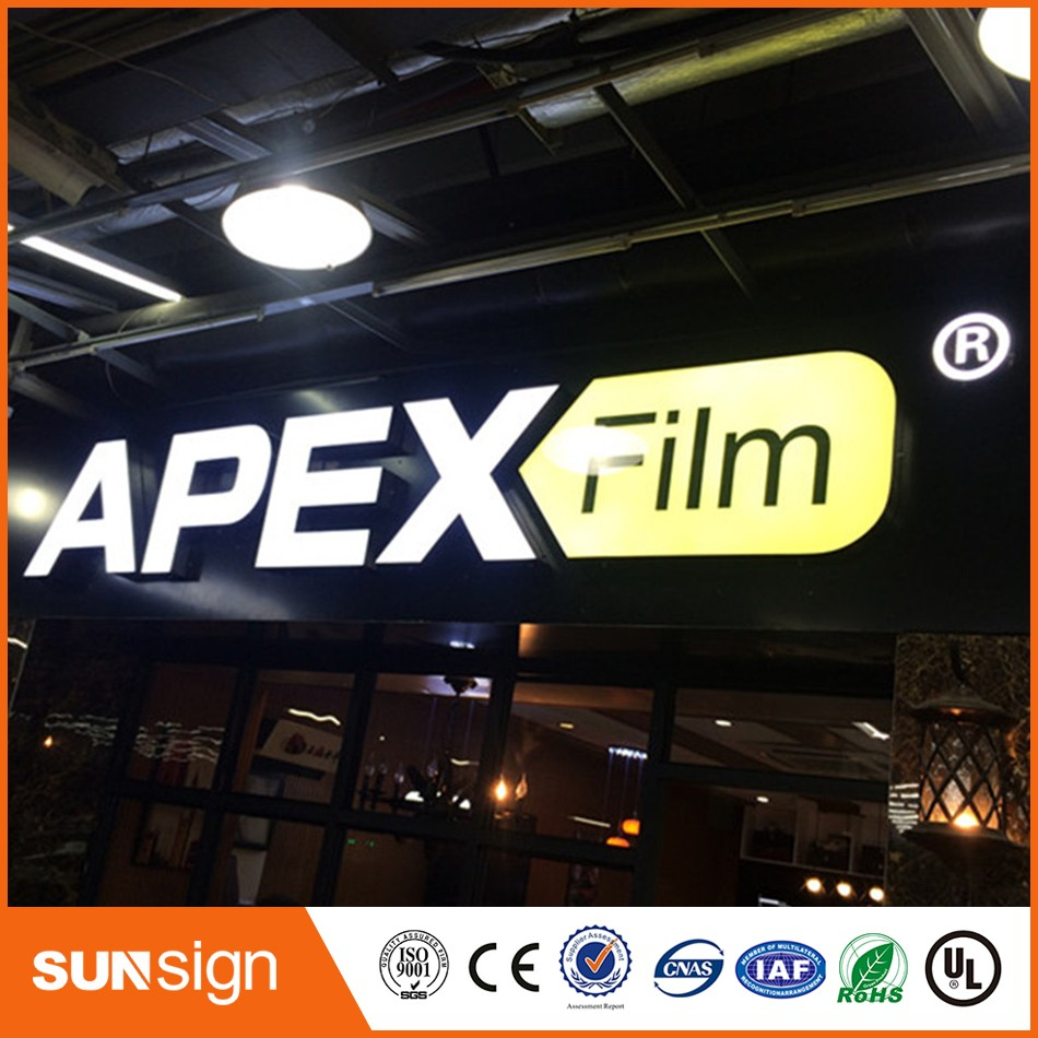 Aliexpress sign shop Factoy Outlet Outdoor Acrylic LED Store Sign(China (Mainland))