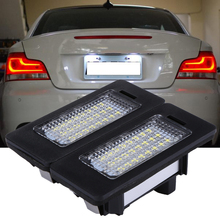Buy 2xError Free LED License Plate Light BMW E82 E88 E90 E92 E39 E60 E61 M5 White Car Light 6000K xenon HID white color Lamp for $8.71 in AliExpress store