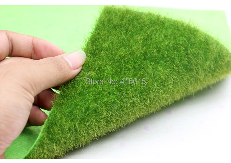 Realistic Simulation Lawn Green Artificial Grass Mat Boxwood Mat Simulation Moss For Home Wedding Decoration Garden DIY 15*15CM(China (Mainland))