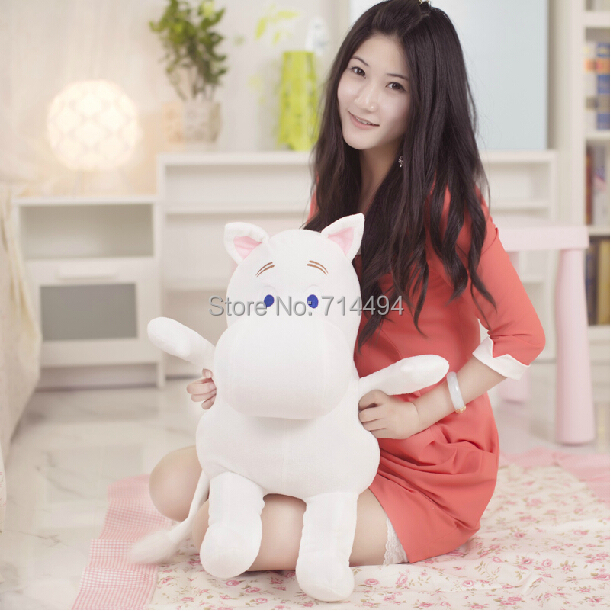 Genuine 23cm Moomin Hippo Plush Toy Stuffed Doll little fertilizer valentine Park Spring bom Free shipping(China (Mainland))