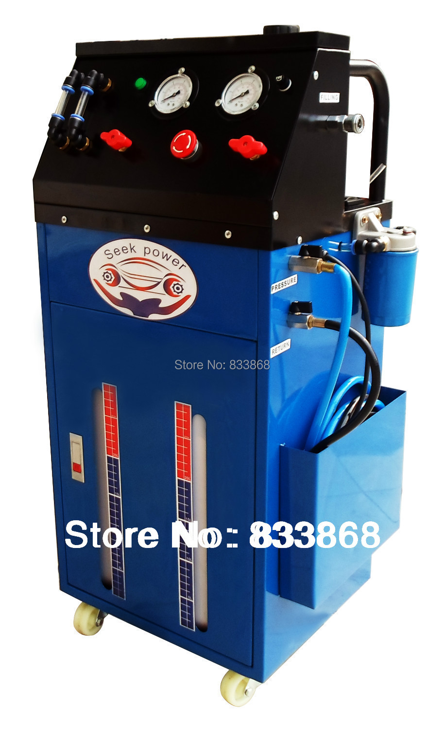 transmission fluid exchange machine