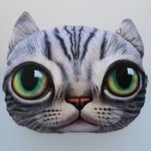40cm*38cm Creative Cartoon pillow Cushion Car Cushion Cover Handsome Cat Nap Pillow Cushion and Pillow Washable Waist Pillow