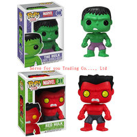 "4"" 10cm Funko POP Hulk Toys Funko Pop Vinyl doll The Incredible Hulk Action Figure toy for children Free shipping"