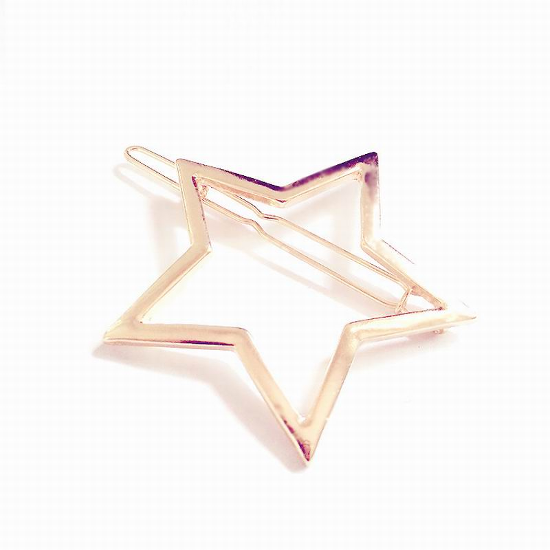 2016 New Brand Hairpins Star Hair Pin Jewelry Hairgrips Hair Clip For Women Hair Accessories HF830(China (Mainland))