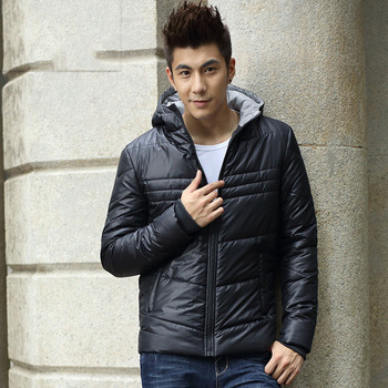 2016 autumn and winter men's cotton-paddetd jacket korea slim thin down jacket men's down jacket fashion cotton jacket