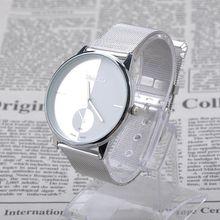 Classic Mesh Band Couple Watch Women Men s Quartz Stainless Steel Wrist Watch Unisex PMHM355P20