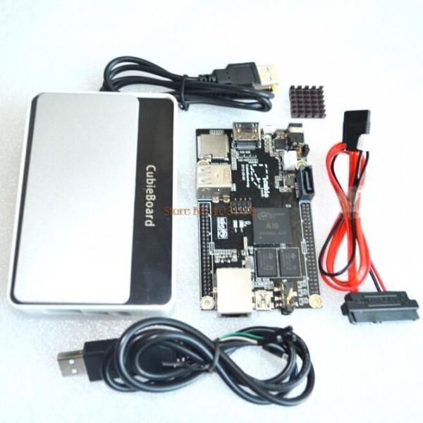 Raspberry Pi Enhance Version Mini PC Cubieboard 1GB ARM Development Board Cortex-A8 Kit Free Shipping