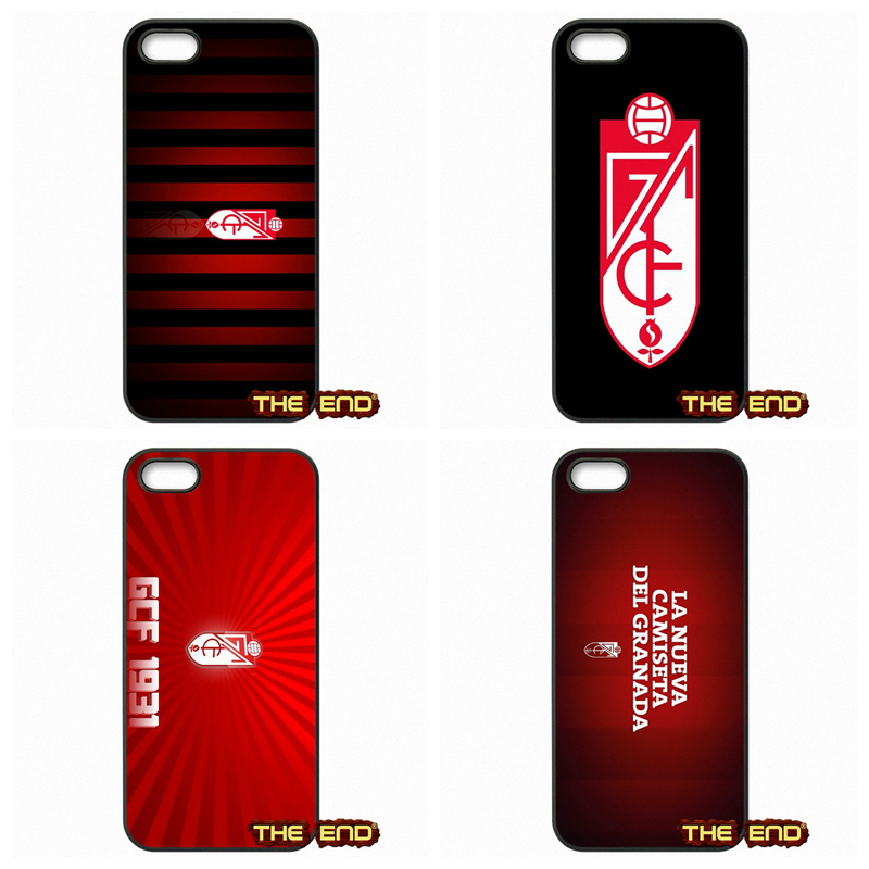 For Apple iPod Touch 4 5 6 iPhone 4 4S 5 5C SE 6 6S Plus 4.7 5.5 Granada CF Logo La Liga Andalusia Spain Phone Case Capa(China (Mainland))