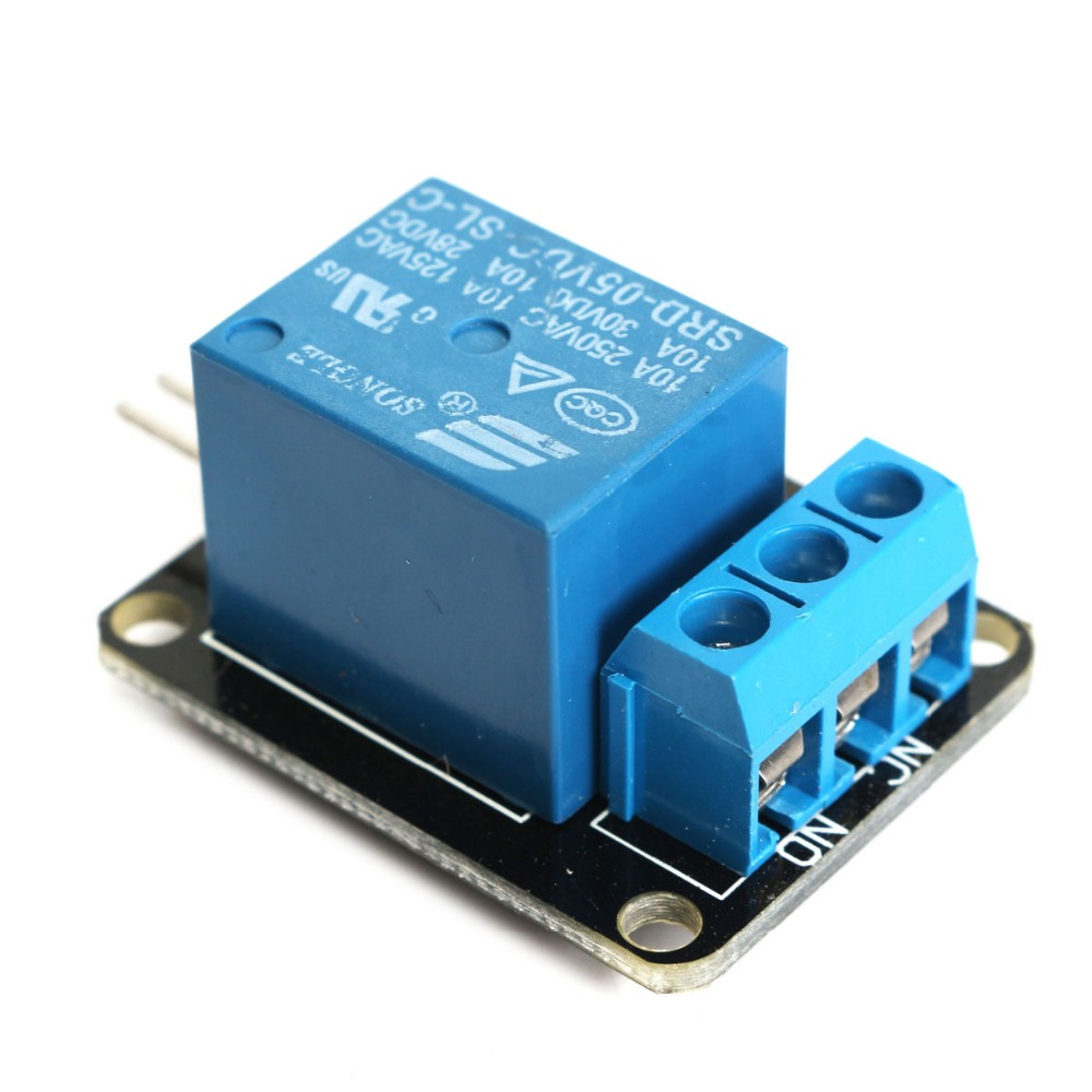 New DIY Led Electric Unit 1-Channel Relay Module Board 5V DC AC for Arduino ARM DSP PIC AVR Electronic Can Control 220V AC Load(China (Mainland))