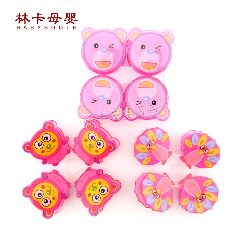 2016 Latex Free Selling Promotion Character Chupeta Nipple 1 Pc Baby Pacifier Clips Cartoon Shaped Colorful Plastic Holders(China (Mainland))
