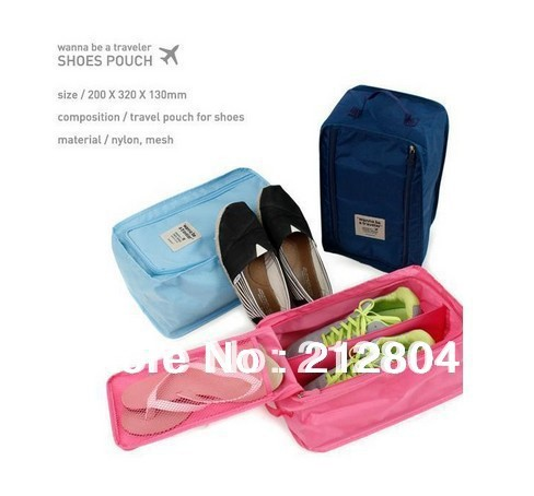 New arrival NEW3COLORS 1PIECE Travel Waterproof Ventilation Folding Shoe Bags/Storage Bag/Waterproof Pouch various ways to use