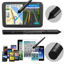 2x Universal 2 in1 Touch Screen Pen Stylus for Mobile Phone Tablet GPS Black(China (Mainland))