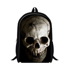 Buy Cool Skull School backpacks boys,children's stylish ghost head back pack,Grade student's bookbags,mens fashion day pack for $19.97 in AliExpress store