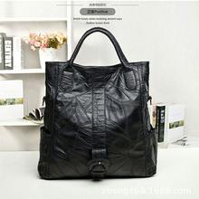 Подлинная овчины кожаная сумочка женщин сумки известных брендов женщин сумки черный сумка Bolsas Femininas