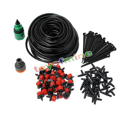 5m Micro Drip Irrigation System Plant Self Watering Garden Hose Kits Vape Tool Coil electronic cigarette rda RBA atomizer(China (Mainland))