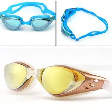 Black UV Protection Anti Fog Adult Adjustable Swimming Swim Goggles Glasses Pro(China (Mainland))