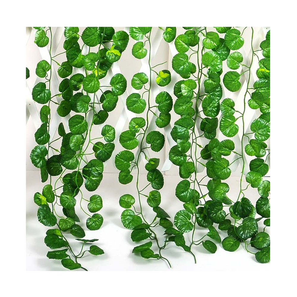 12Pcs Crab-apple Leaf Fake Artificial Home Wall Hanging