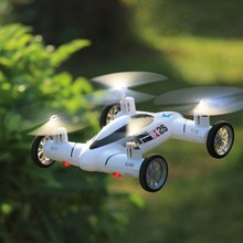 2 in 1 UFO Remote Control SY X25 2.4G Mini Drone RC Quadcopter Land / Sky Helicopter Dron Flying Toy(China (Mainland))