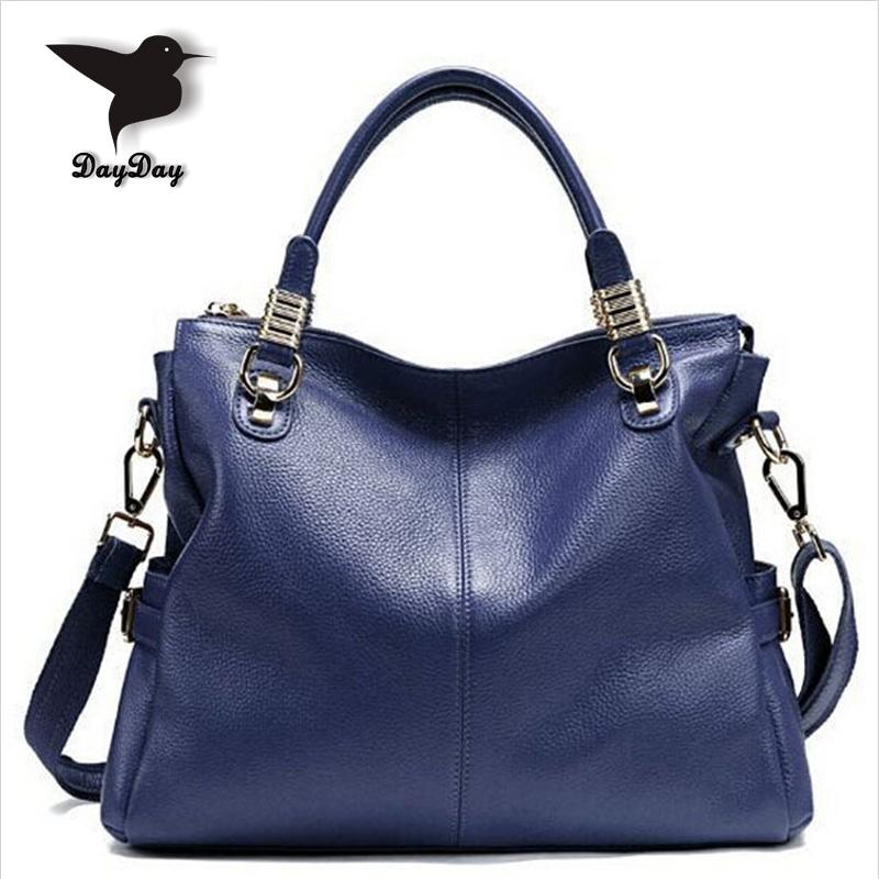 2015 Hot selling women 100% genuine leather women handbag/ all-match fashion cowhide leather woman handbag/ ladys messenger bag<br><br>Aliexpress