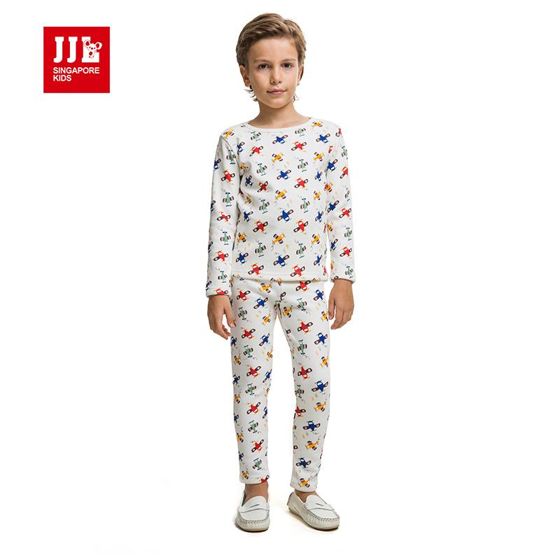 boys sleepwear kids pajamas kids homewear brand boys clothing boys suit winter warm lining boys outfit sets kids clothes(China (Mainland))