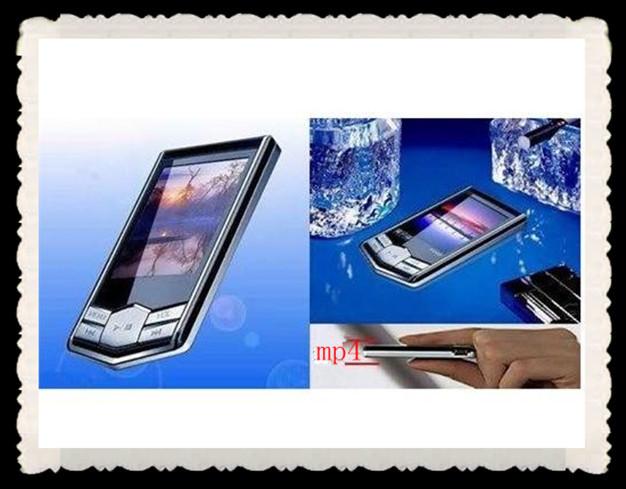 "Big discount! 20PCS/LOT 8GB Slim 1.8""LCD MP3 MP4 FM Radio Player Video+DHL Free shipping!!(China (Mainland))"