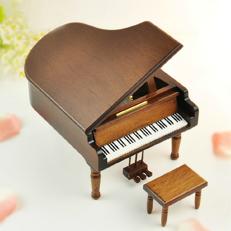 Online Buy Grosir Antique Music Box Piano From China