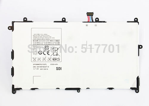 Free shipping high quality mobile phone battery SP368487A(1S2P) for Samsung P7300 P7310 P7320 with good quality and best price