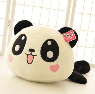 40cm good quaity giant panda plush toy, panda stuffed animal doll, panda pillow doll valentine's day gift kids gift(China (Mainland))