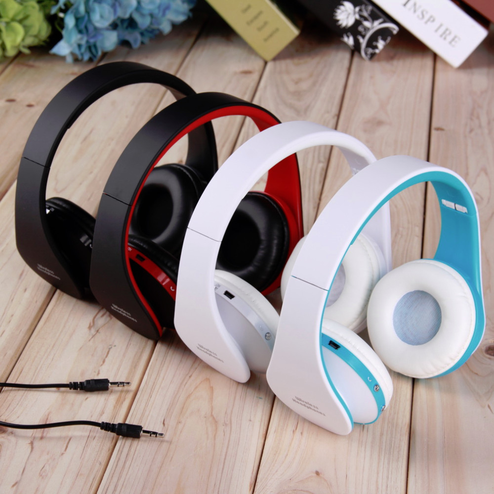 2016 Newest Foldable Wireless Stereo Bluetooth Headset For iPhone Cellphone PC Laptop