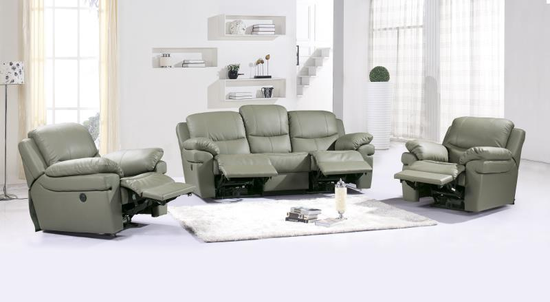 Modern Design luxury 1+2+3 Electric control functional leather recliners shipping to your port modern reclining sofa 8055 1+2+3(China (Mainland))
