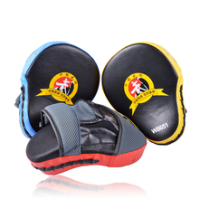 1 Pair MMA Boxing Mitt Punching Mitt Target Focus Punch Pad Training Glove For Karate Muay Thai Kick High Quliaty Free Shipping(China (Mainland))