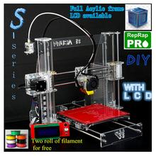 3d printer lcd diy kit high precision reprap prusa i3 extruder